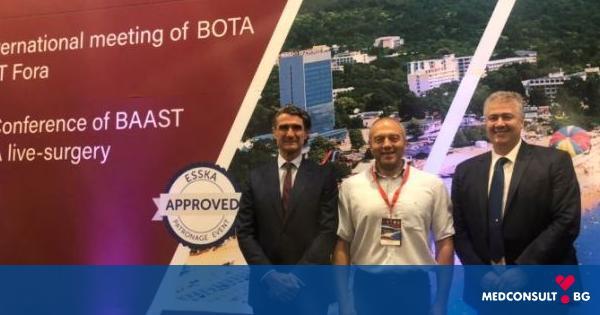 Българската асоциация по артроскопия и спортна травматология е с нов председател