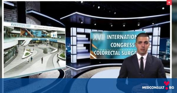 На 10 октомври стартира XVII Международен конгрес по колоректална хирургия във виртуална среда